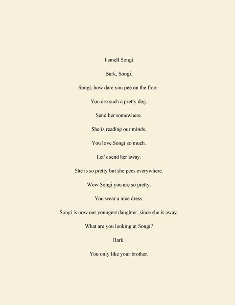 Kyoung eun Kang : Family poems
