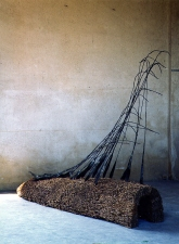 Dominique LABAUVIE Sculpture: Archive 1985-2006 Reed and Forged Steel