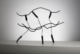 Dominique LABAUVIE Sculpture: Archive 1985-2006 Forged Steel