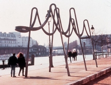 Dominique LABAUVIE Sculpture in Public Spaces Cast Iron