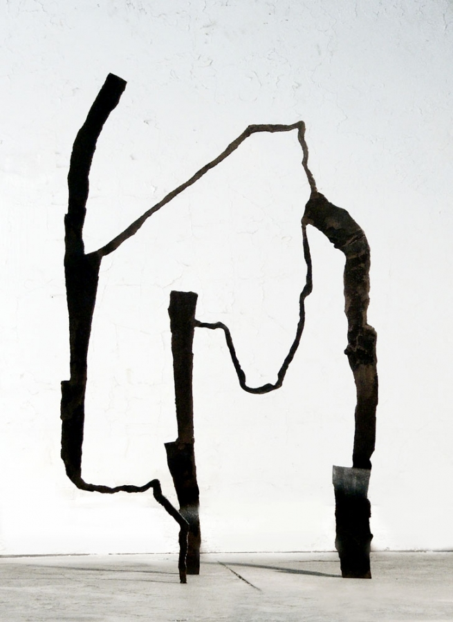 Dominique LABAUVIE Sculpture: Archive 2007-2010 Forged Steel
