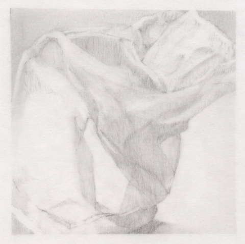 Leigh Ann Hallberg Cereal Bag Books and Drawings Graphite on Vellum