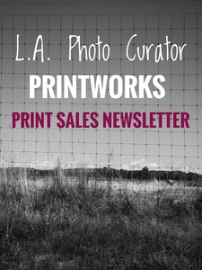 L.A. Photo Curator: Global Photography Awards - 'Where Photography & Philanthropy Meet' PRINTWORKS PRINT SALES NEWSLETTER January 2019