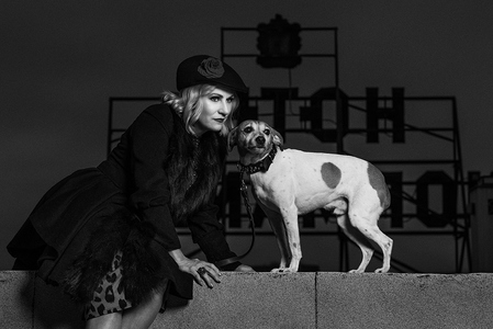 L.A. Photo Curator: Global Photography Awards - 'Where Photography & Philanthropy Meet' BEST SERIES: DIANA LUNDIN 'DOG NOIR'