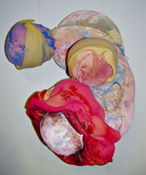 Larry Dell : Foam Rubber Sculpture
