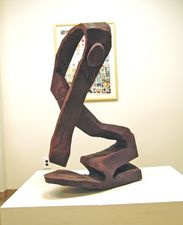 Larry Dell Wood Sculpture