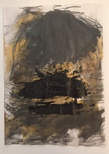 Laura Bell Selected Mixed-Media Works Acrylic, charcoal, pencil, and black glue on paper