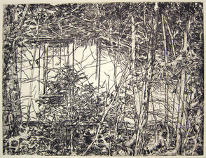 LAURA SUE KING ink etching