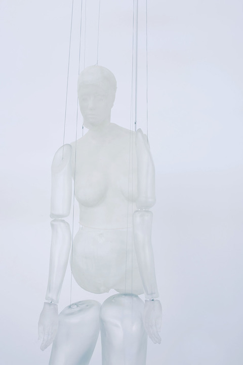 Glass Marionette (detail)