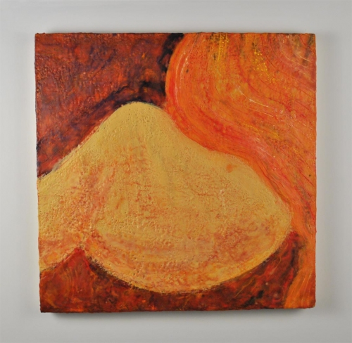 Lauren Cifranic 2009 Encaustic on wood