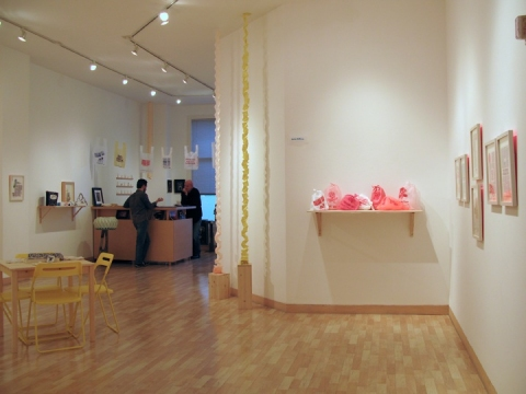 "Lauren DiCioccio ""New Work"" at Jack Fischer Gallery, November 2009"