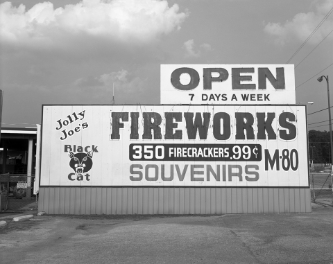 "FIREWORK ""Open 7 Days A Week"""