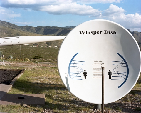 "COLLECTIVE SPACE ""Whisper Dish"" Alamogordo, New Mexico"