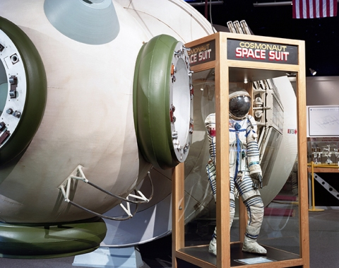 "COLLECTIVE SPACE ""Cosmonaut Space Suit"" Wisconsin Dells, Wisconsin"