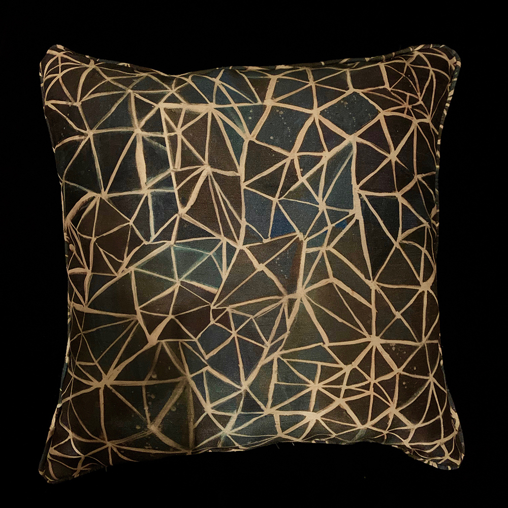TEXTILES GALLERY Decorative Throw Pillow