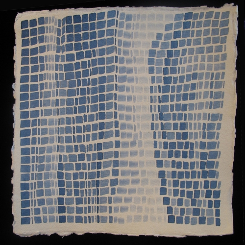 Laurie Olinder blue square WAVES