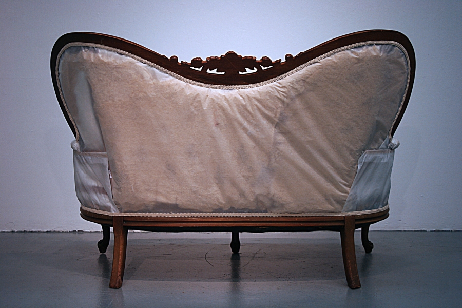 leah floyd Text and Con-text tracing paper, love-seat