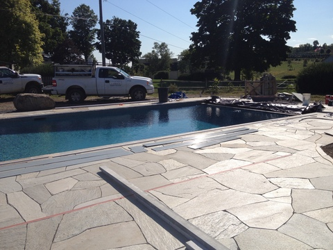 LEISURE POOLS   8. patios, masonry, features and accessories