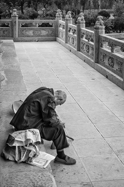 Finding Wuzhen J01-019 Tired Man