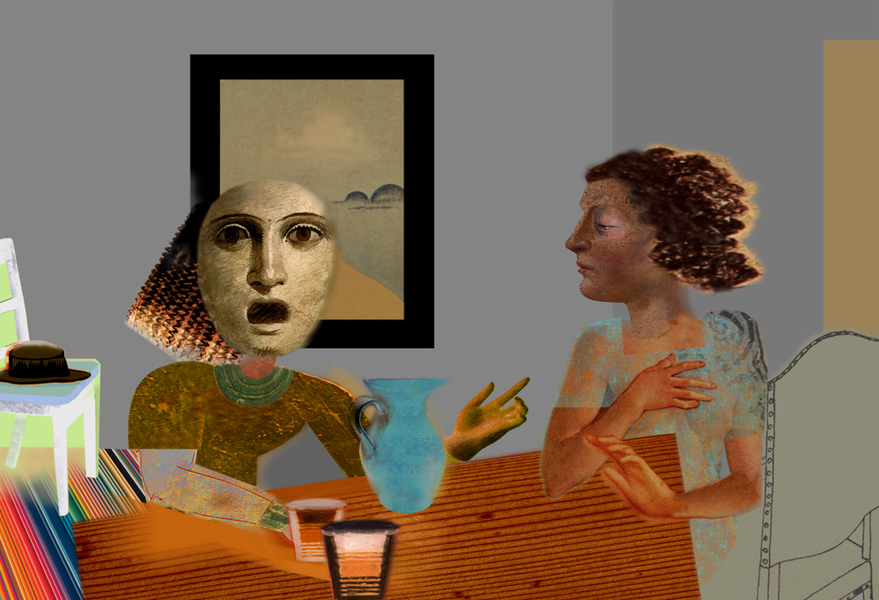 Early Digital Two Women (12/24)