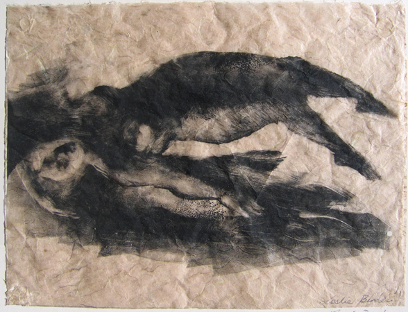 PRINTMAKING  Fallen Angel