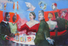 COLLECTIVE CONSCIOUSNESS;            Carnivale / Restaurant  Oil / Canvas