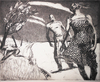 PRINTS 1987-1994 The Dark Years etching aquatint, ink on paper