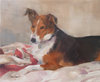 DOG PORTRAITS oil on canvas