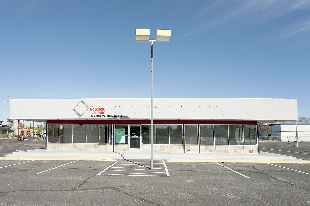 The Architecture of Nowhere (ongoing) Motor Vehicle Dealer, Tucson, Arizona  2013