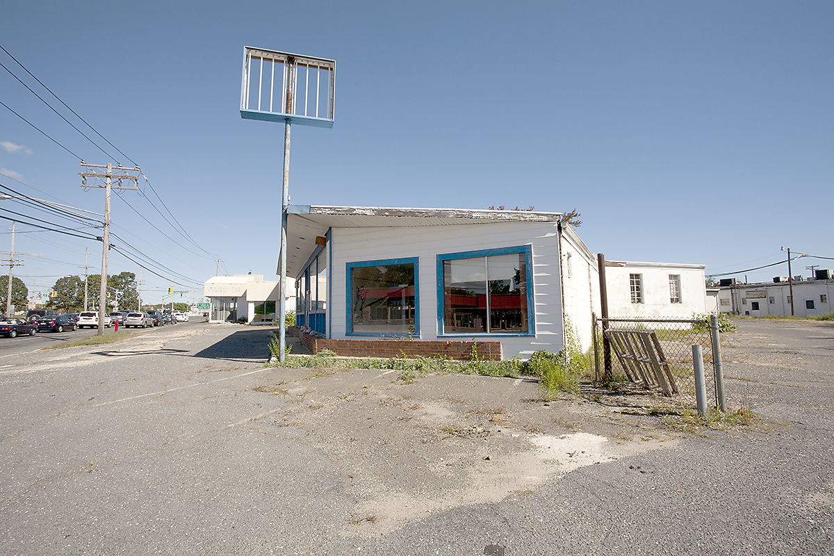 The Architecture of Nowhere (ongoing) Used Car Dealer, Yorktown Heights, New York  2013