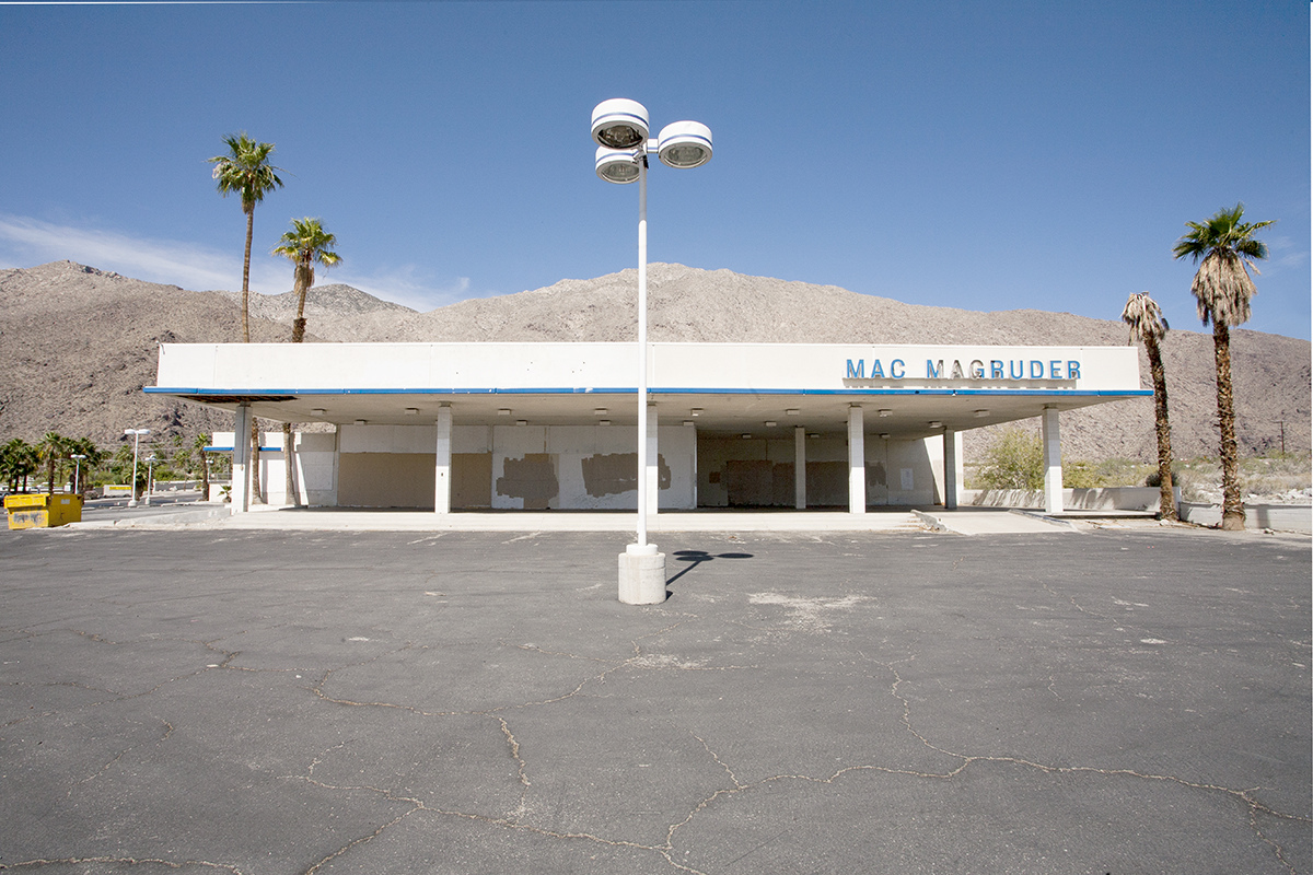 The Architecture of Nowhere (ongoing) Car Dealer, Palm Springs, California 2014