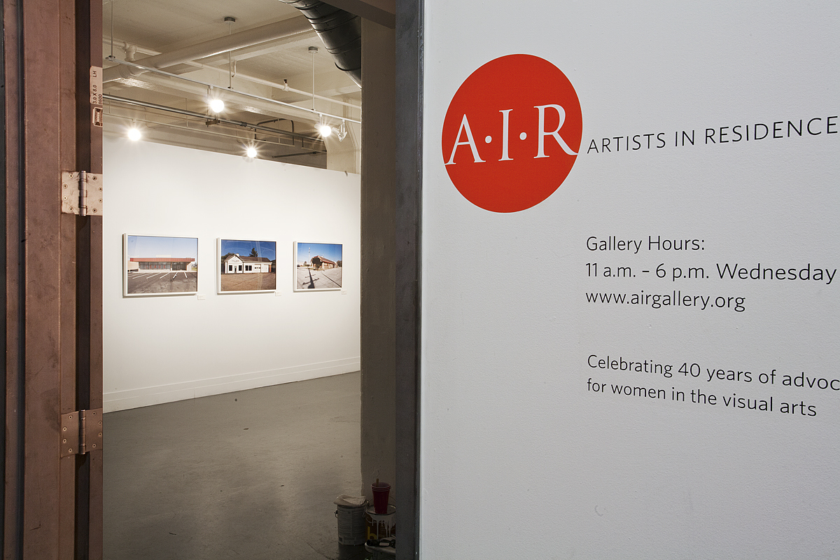 "EXHIBiTIONS Solo Exhibition, ""The Architecture of Nowhere,"" A.I.R. Gallery, Brooklyn, New York 2013"