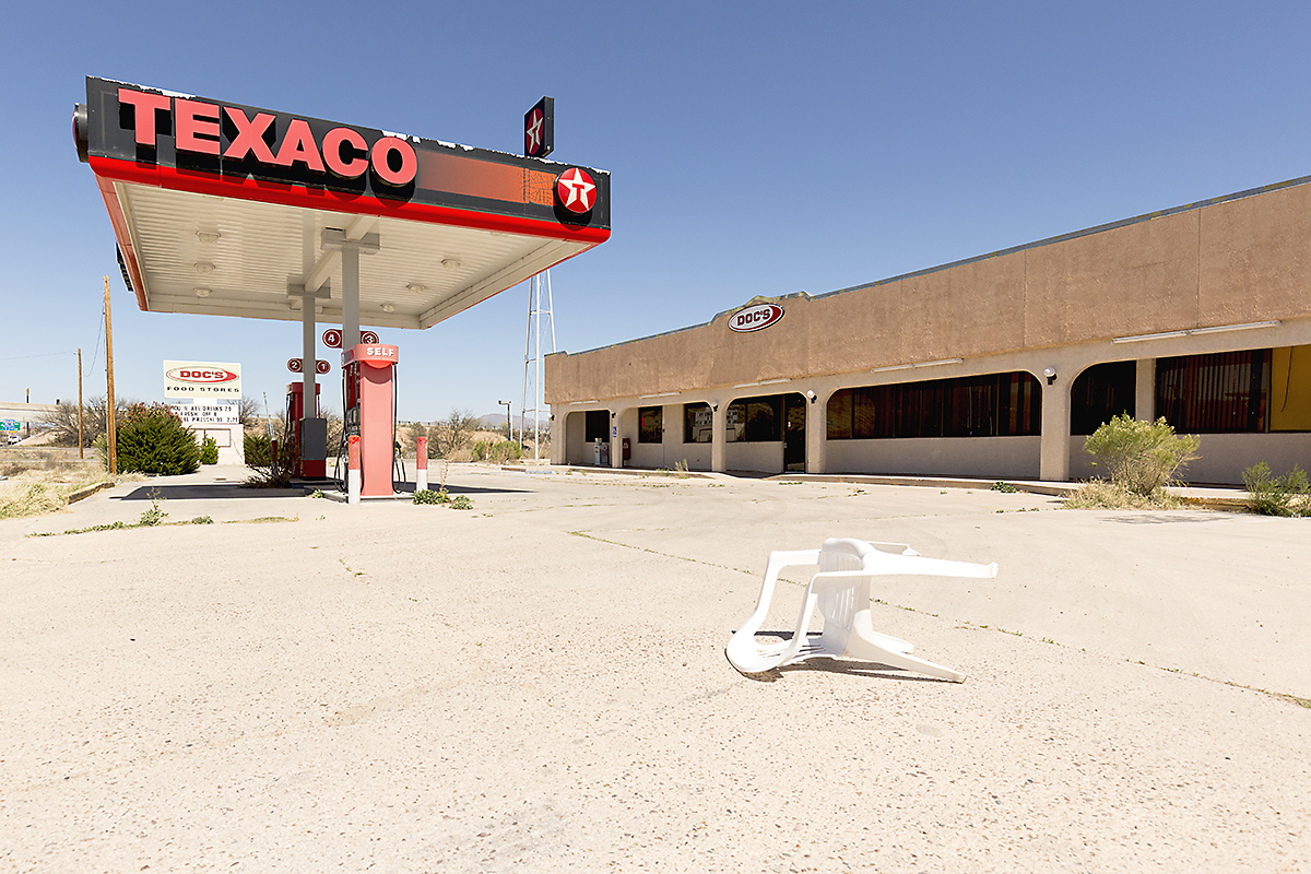 The Architecture of Nowhere (ongoing) Texaco, Benson, Arizona 2016