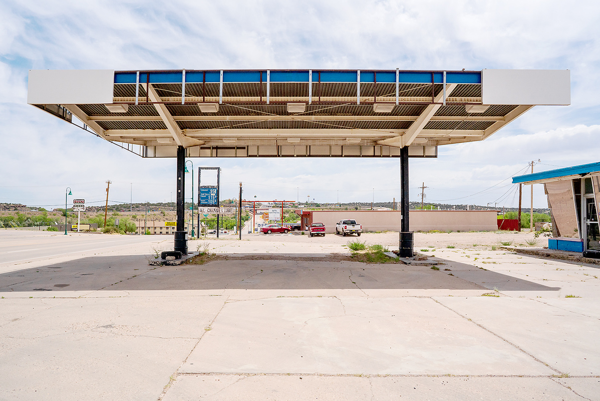 The Architecture of Nowhere (ongoing) Gas Station, Santa Rosa, New Mexico 2018