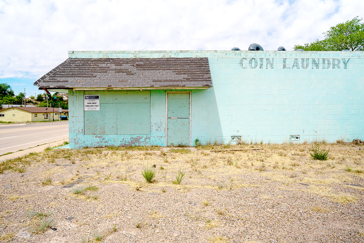 The Architecture of Nowhere (ongoing) Coin Laundry, Santa Rosa, New Mexico 2018
