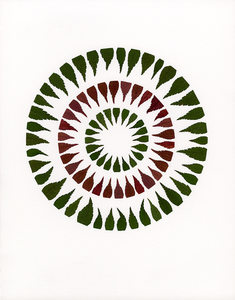 Linda Stillman Botanicals leaves on paper