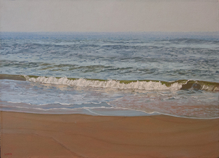Frank Lind Small Seascapes  o/c