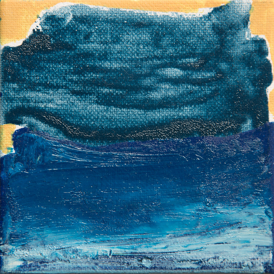 Tiny Paintings Tiny Painting #4 (Ocean)