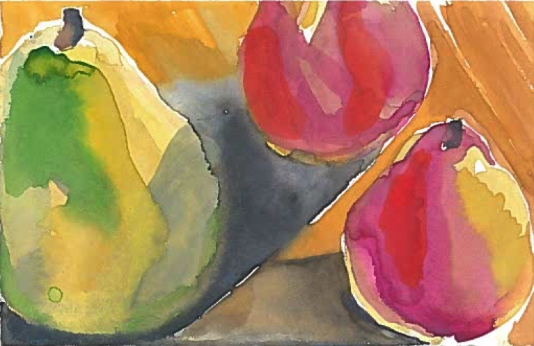 Works on Paper Blue Hill Pear Study II