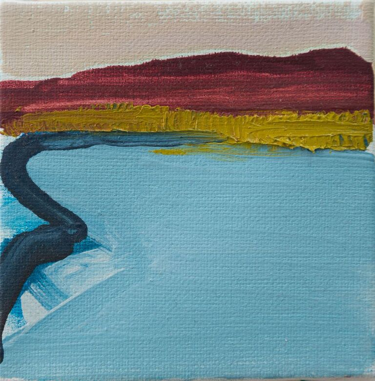 Tiny Paintings Tiny Painting: Berkshires