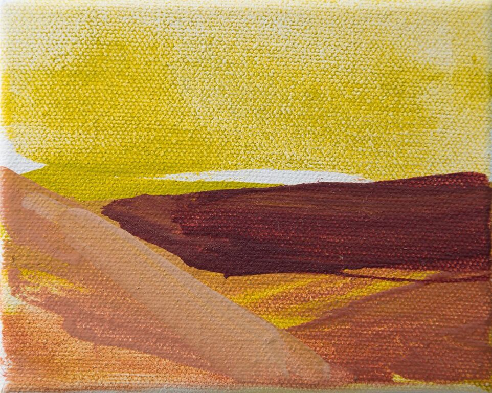 Tiny Paintings Tiny Painting: Taos