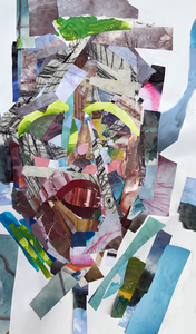 Linnea Paskow Collages 30 x 17 inches