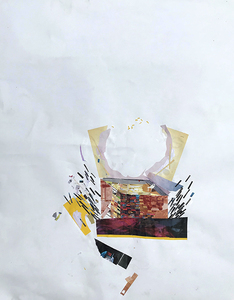 Linnea Paskow Collages Collage on paper