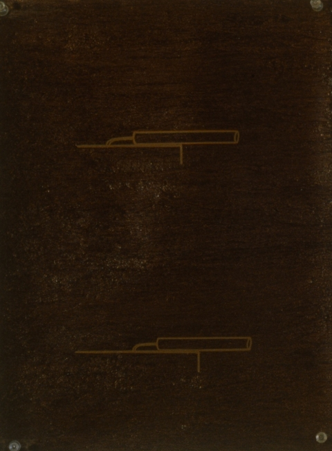Metallic Drawing Series 1998-2000 Right Angle Copper Laser A