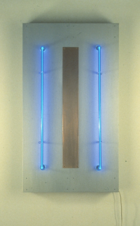 Neon Sculptures 1991-2008 Neo-Blue Conductor
