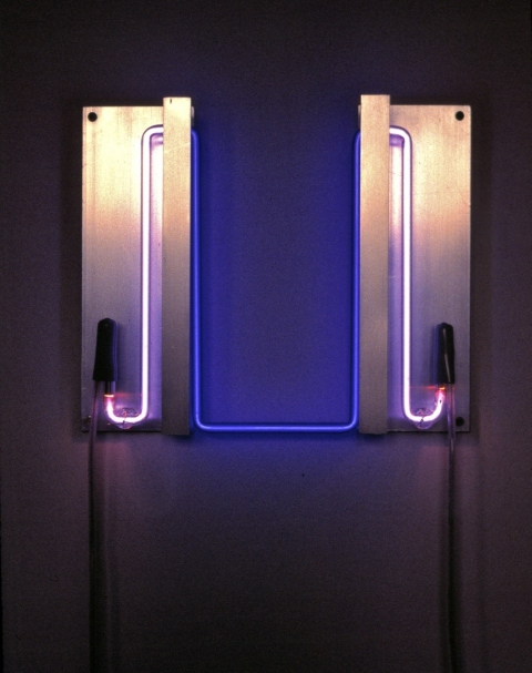 Neon Sculptures 1991-2008 Ultraviolet Catastrophe