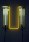 Neon Sculptures 1991-2008 brass, colored glass tubing, low mercury argon gas