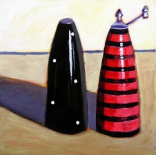 Lisa Goldfinger Still Life Acrylic on Canvas
