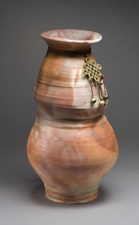 Bottles, Vases, Vessels and Lidded Jars Woman Warrior