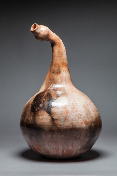 Bottles, Vases, Vessels and Lidded Jars Goose Gourd